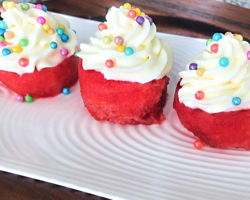 Cupcake de Sandía Mar Mayorga
